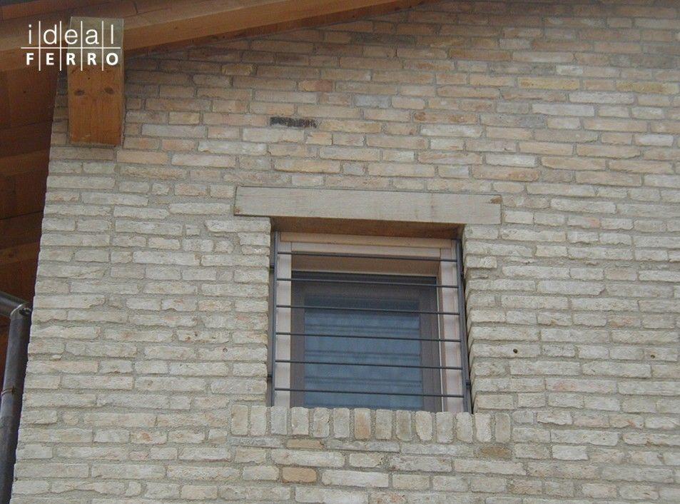 Grata ad elementi orizzontali - Portoncini di sicurezza e inferriate Ideal Ferro snc  Home ...