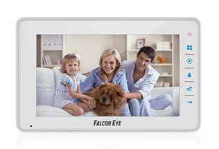 Внутренний монитор Falcon Eye FE-70C4 FE-70C4 Falcon Eye FE-70C4 - видеодомофон, имеет цветной экран 7 дюймов, сенсорные кнопки. Самой главным преимуществом является подключение 4-х вызывных панелей. Приятный дизайн, удобный интерфейс. Адресный интерком, подключение до 4-х видеодомофонов в одну систему позволяет построить на базе домофона обширную сеть для контроля и разграничения доступа. Встроенный блок питания. Возможность подключения к подъездному координатному и цифровому домофону (с…