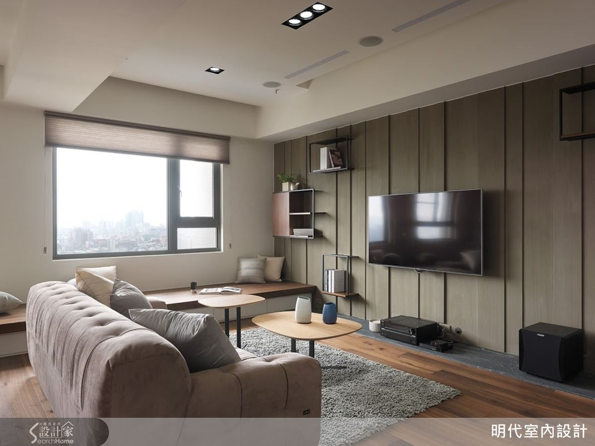 展翼翱翔 剛中帶柔的單身型男部屋 Small Living Rooms Home Deco Home