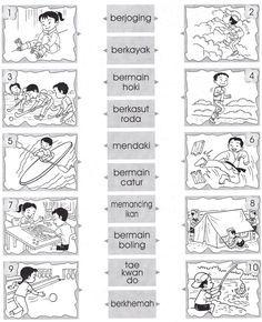 Bahasa Melayu Tahun 2 Latihan Dan Aktiviti School Kids Activities Kindergarten Reading Worksheets Preschool Writing