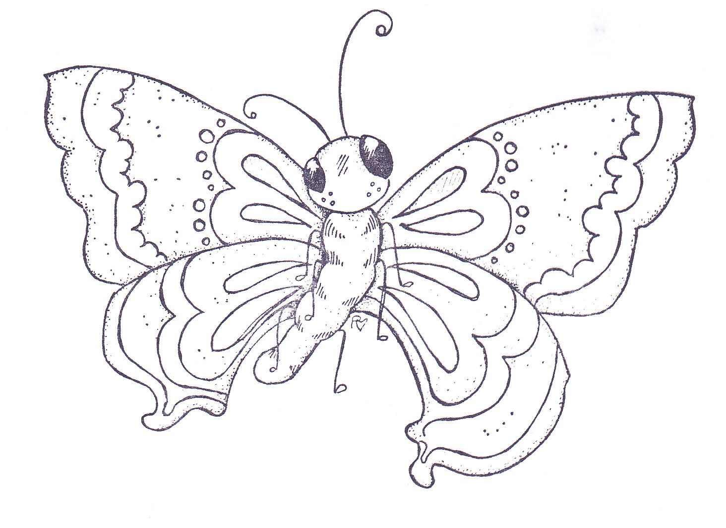 I see you butterfly patterns Pattern coloring pages