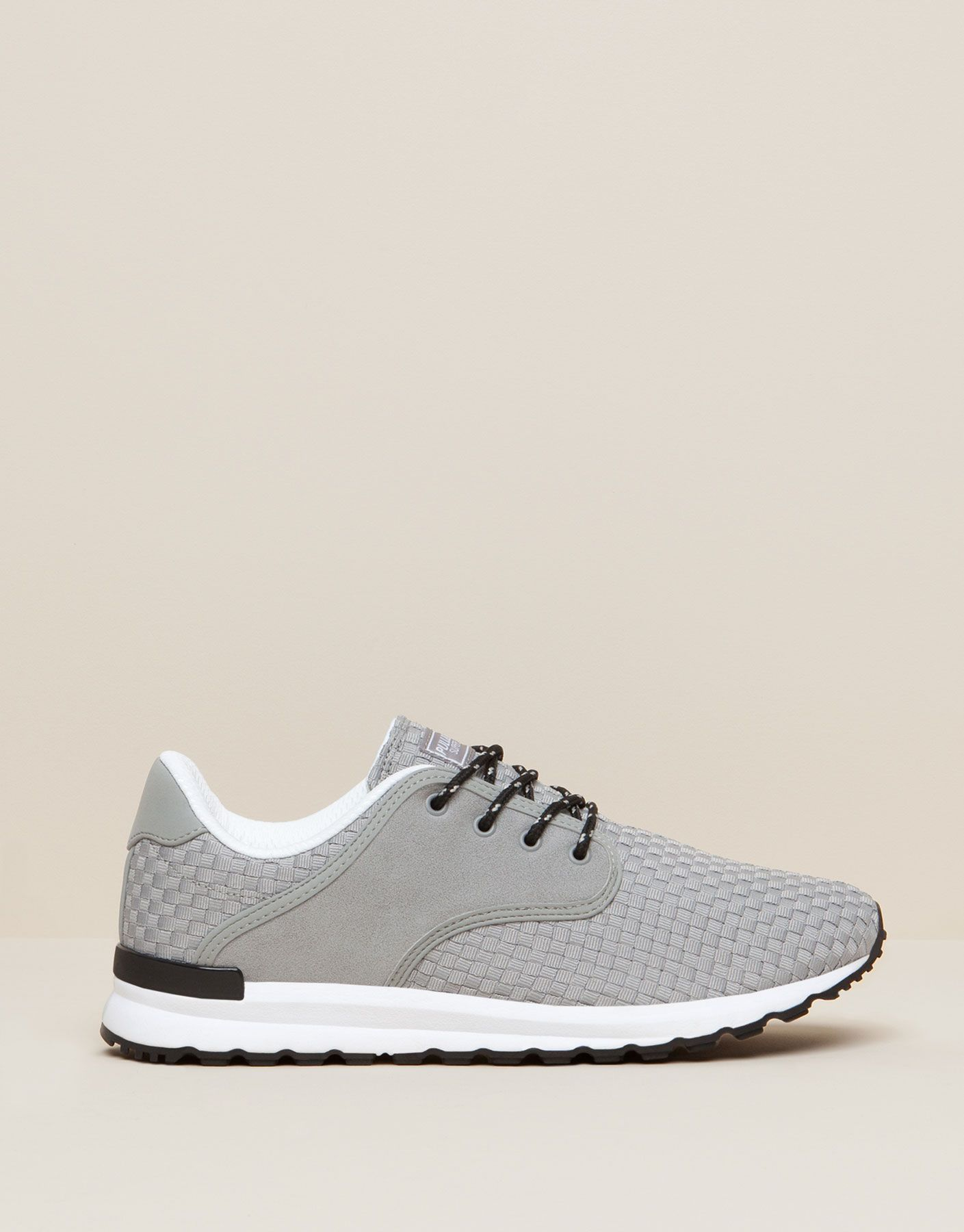 new product 48f44 597ff BASKETS TRESSAGE - FAVORIS - HOMME - PULL BEAR France