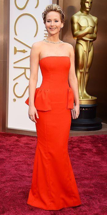JENNIFER LAWRENCE - 2014 Academy Awards   Nice dresses ...