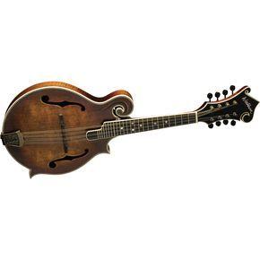 this is my mandolin Vintage finish Washburn M118 F-Style