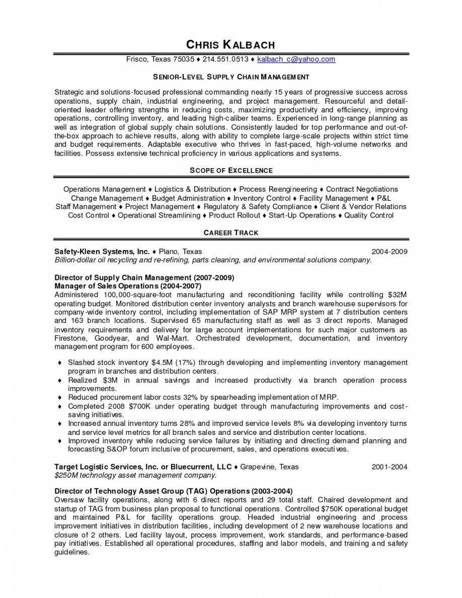 supply chain analyst resume logistics coordinator resume