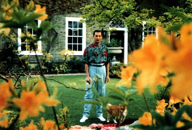 The Last Known Photos of Freddie Mercury, 1991