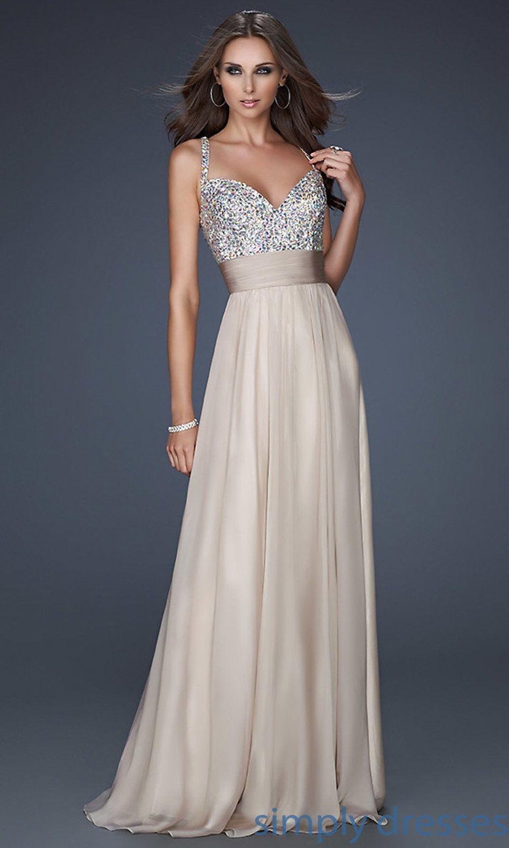 Lf la femme beaded long formal dress designer prom dresses