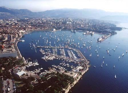 Split, Croatia. Back when it was Yugoslavia.
