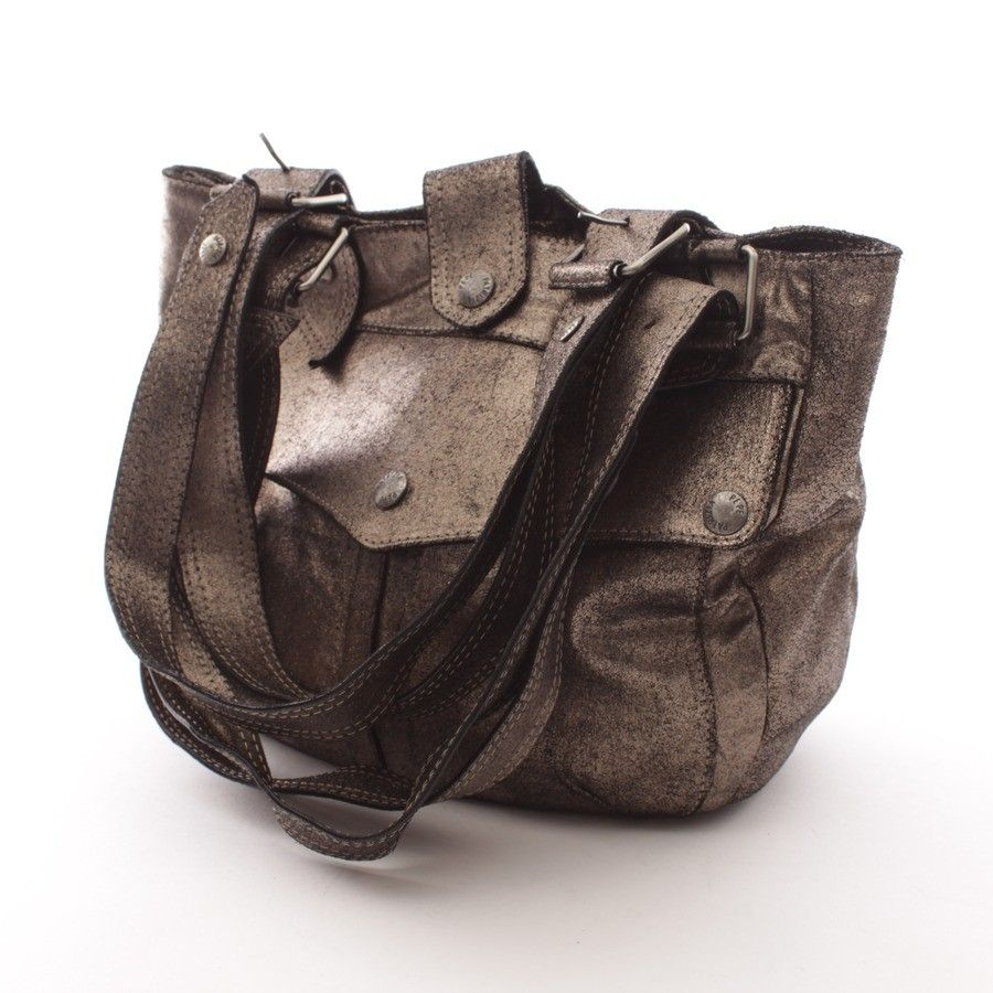 32297b3c32 Stylische Handtasche von Patrizia Pepe in Silber - feminin und abendtauglich