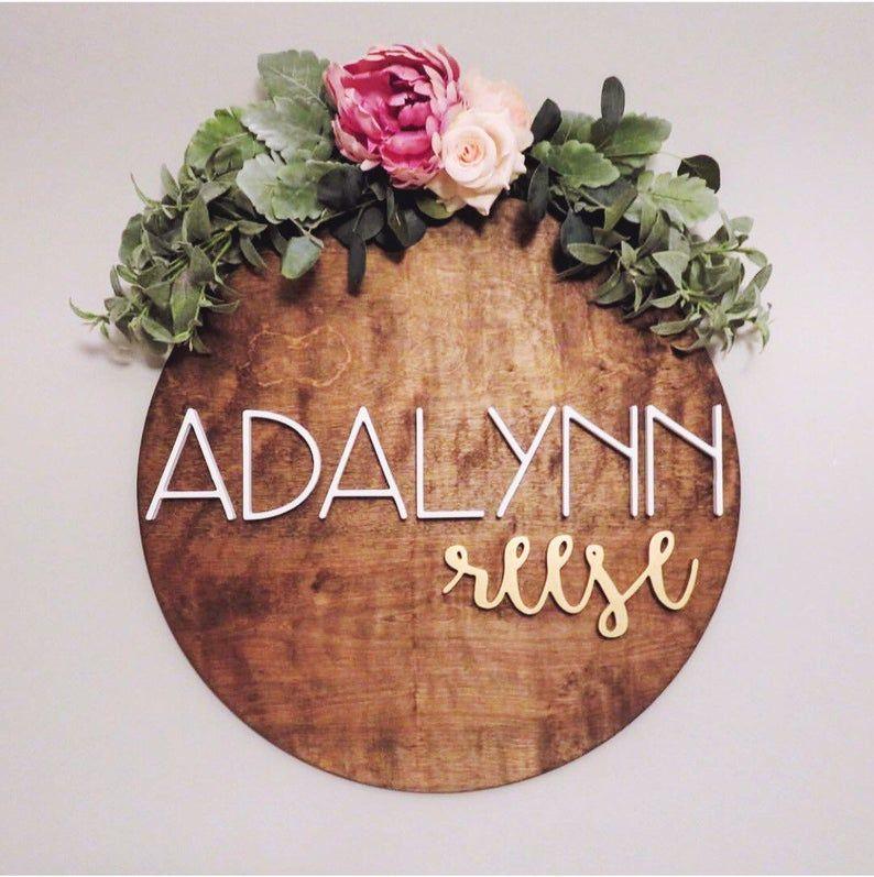 Photo of Ghirlanda floreale, malloppo, ghirlanda di fiori, ghirlanda di 3 ', peonia, verde, malloppo floreale per cartelli in legno, decoro vivaio, regalo per baby shower, bimbo