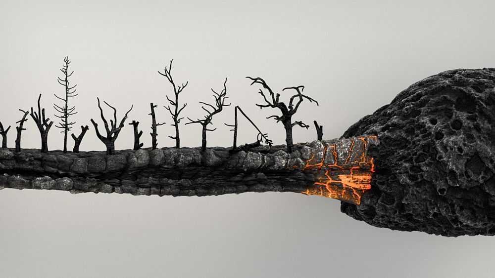 National Campaign Against Forest Fires On Behance Forest Fire