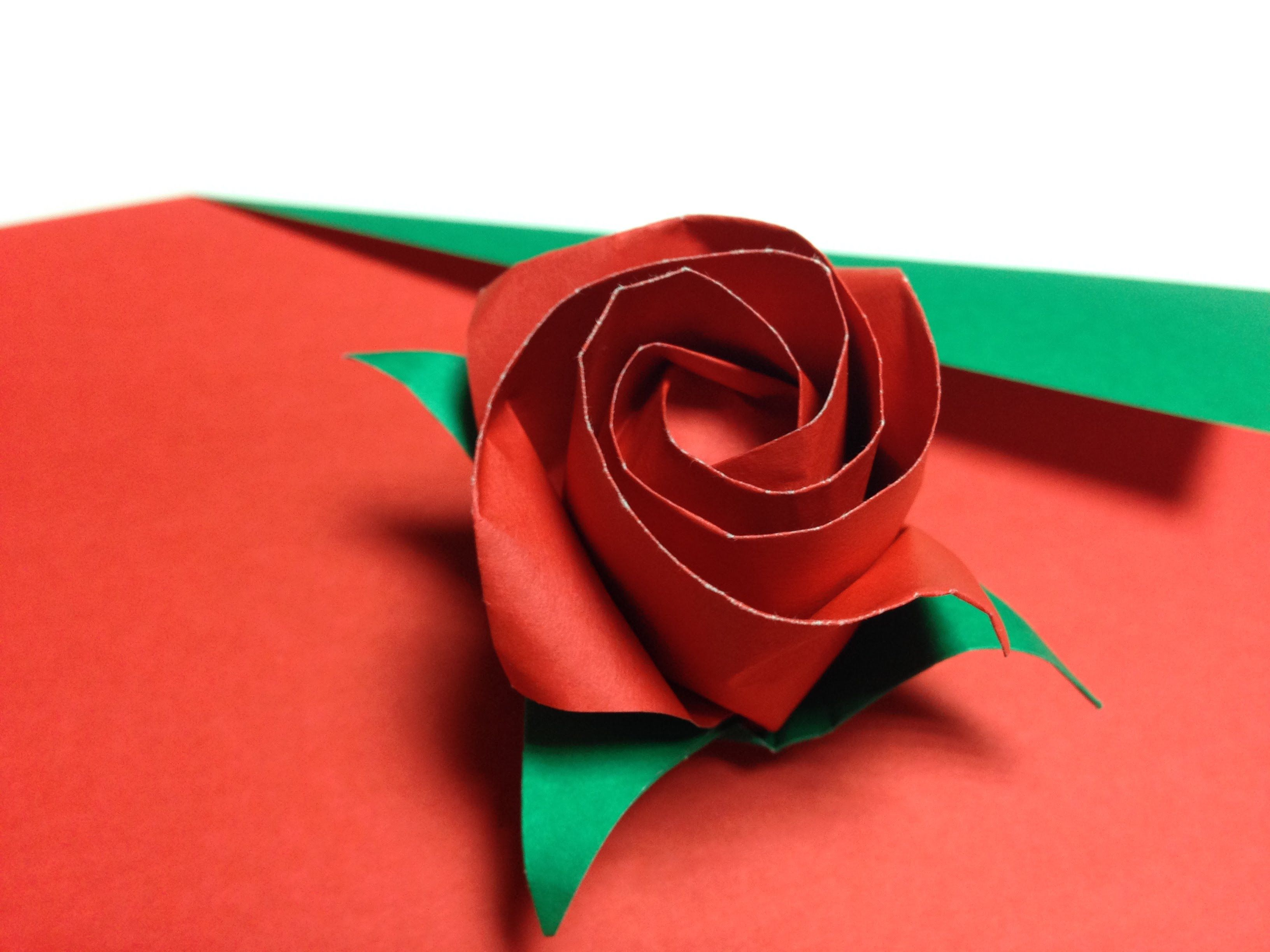 33 Only One Origami Rose33
