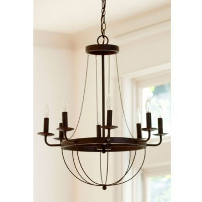 Lourdes 8 Light Chandelier. Use as base for rope chandelier. Very ...