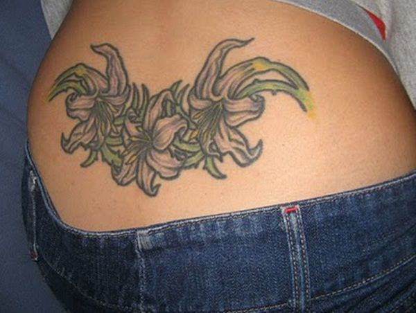 100 Sexy Lower Back Tattoo Designs For Girls.