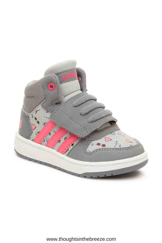 $34.99 adidas Girls Hoops Mid 2 Toddler