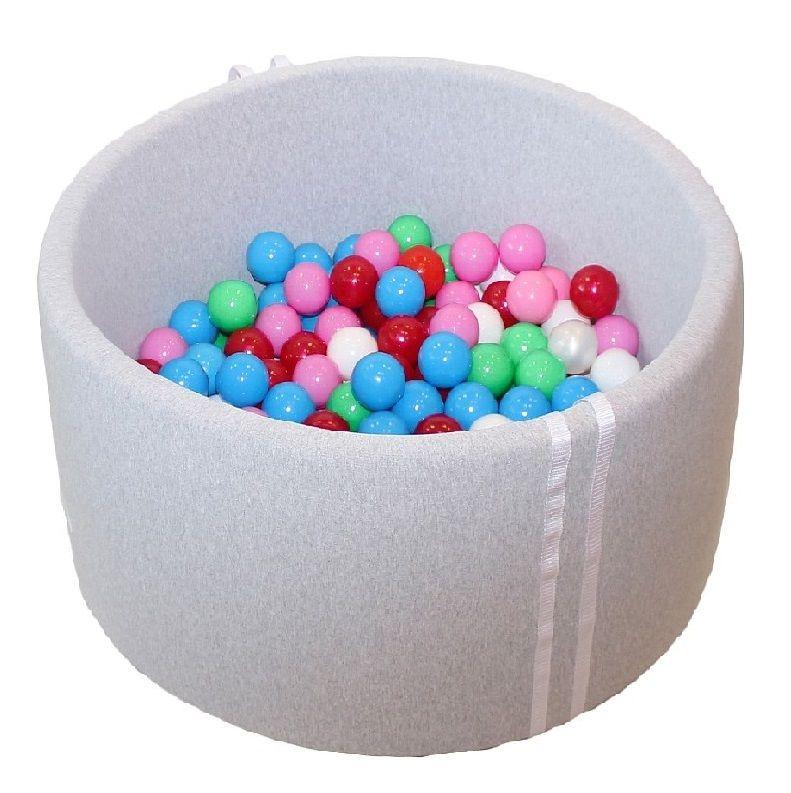 Suchy Basen Z Pilkami 150 Szt 90x40 Cm Dno 4 Cm 7552378188 Oficjalne Archiwum Allegro Baby Ball Ball Learning Colors