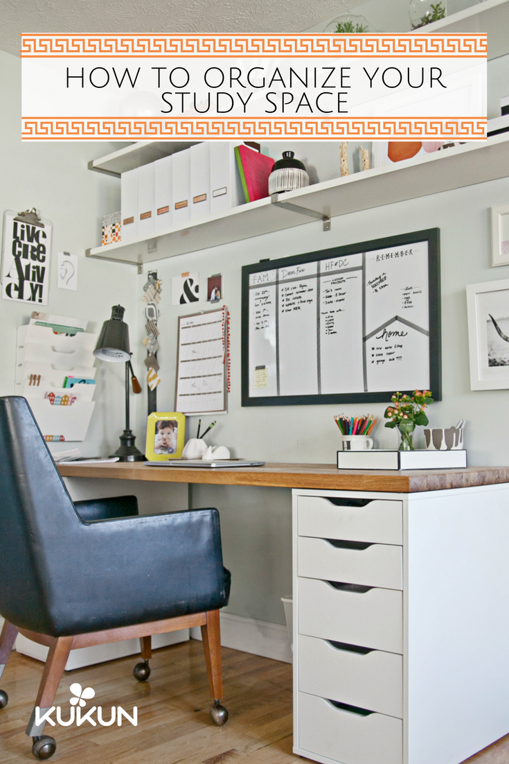 How To Organize A Productive Study Space For College Students Kukun Home Office Space Home Office Furniture Shared Home Offices