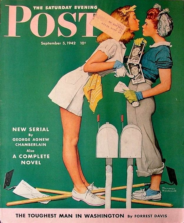 LOOK MAGAZINE 1942 SEPT 22 FINE+ FILE COPY FASHION WORLD WAR II COVERAGE