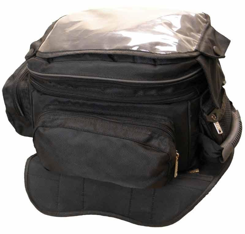 Large Magnetic Tank Bag with Map Pocket Assorted Colors
