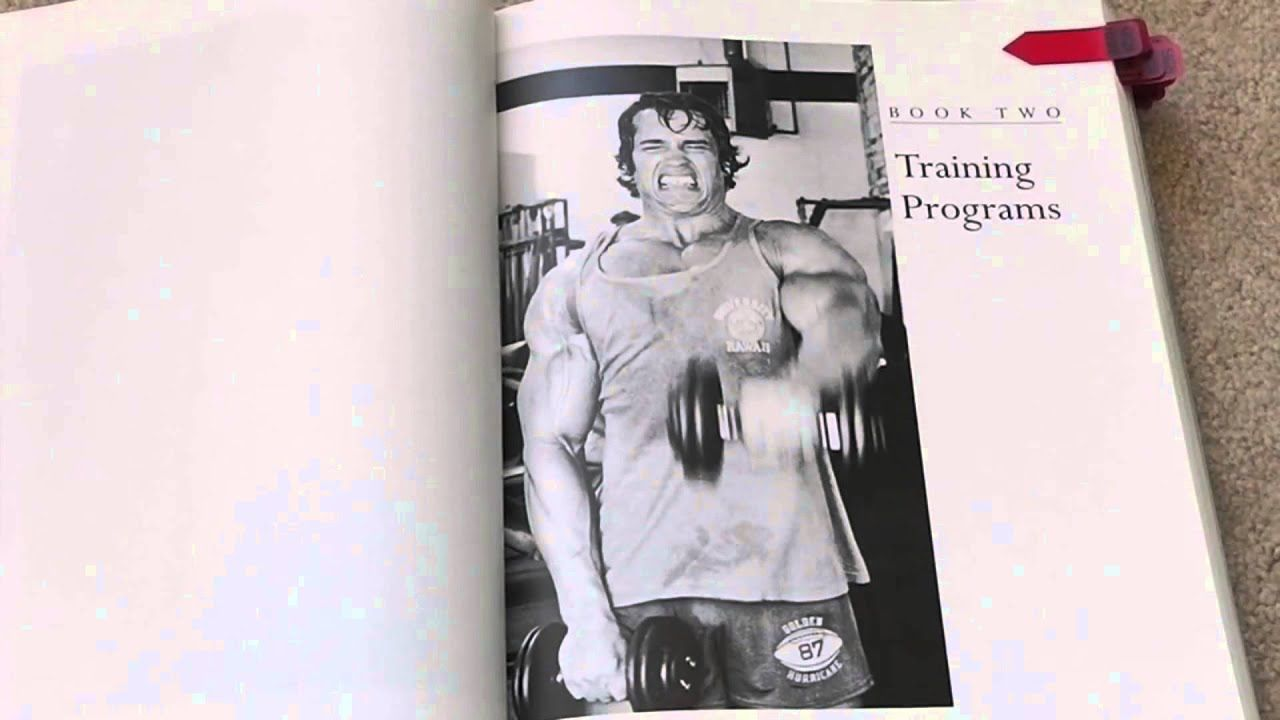 Arnold Schwarzenegger Encyclopedia Of Modern Bodybuilding This Book Is Considered The Bible Of Bodybuilding Arnold Schwarzenegger Bodybuilding Schwarzenegger