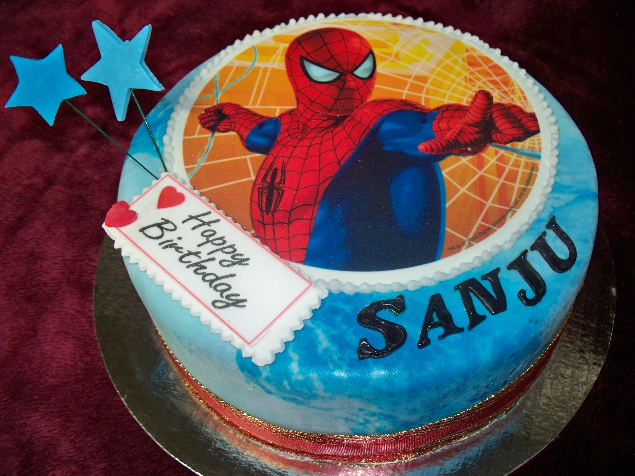 SPIDERMAN themed Birthday cake Best Birthday Cakes in Auckland New