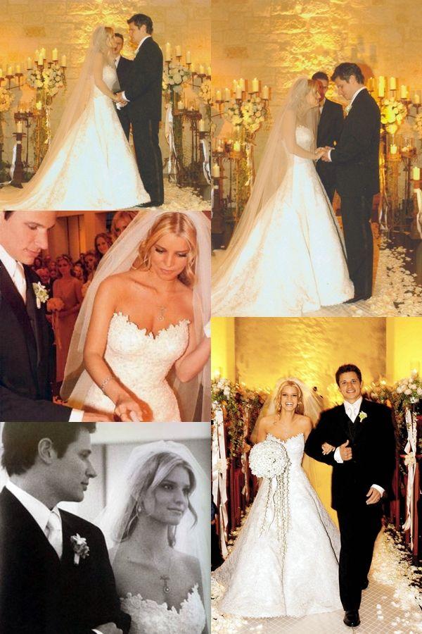 Jessica Simpson & Nick Lachey wedding  Jessica simpson wedding