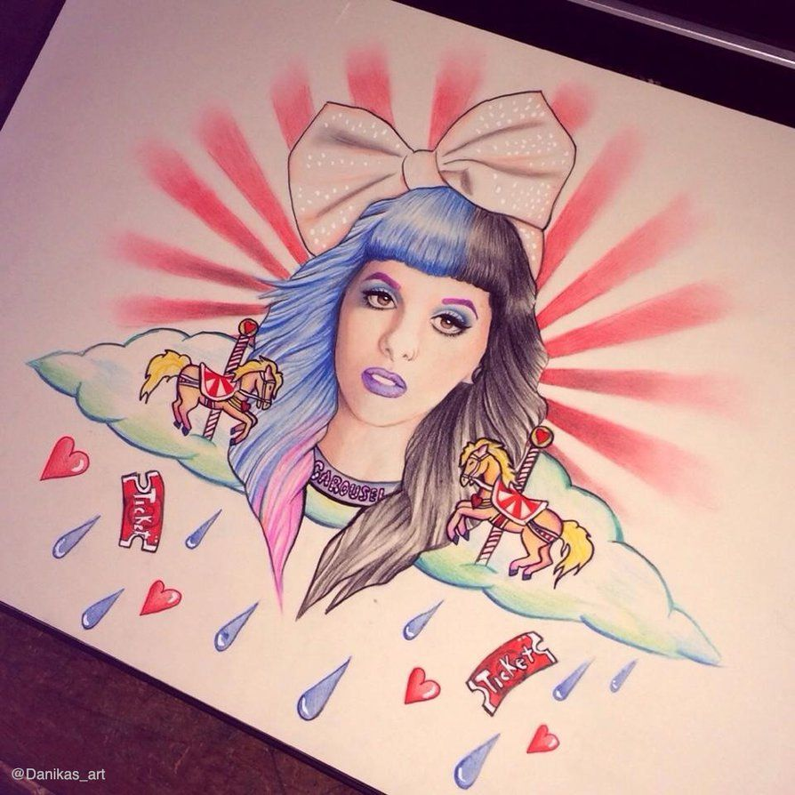 Melanie Martinez Carousel Drawing By Danikasart26