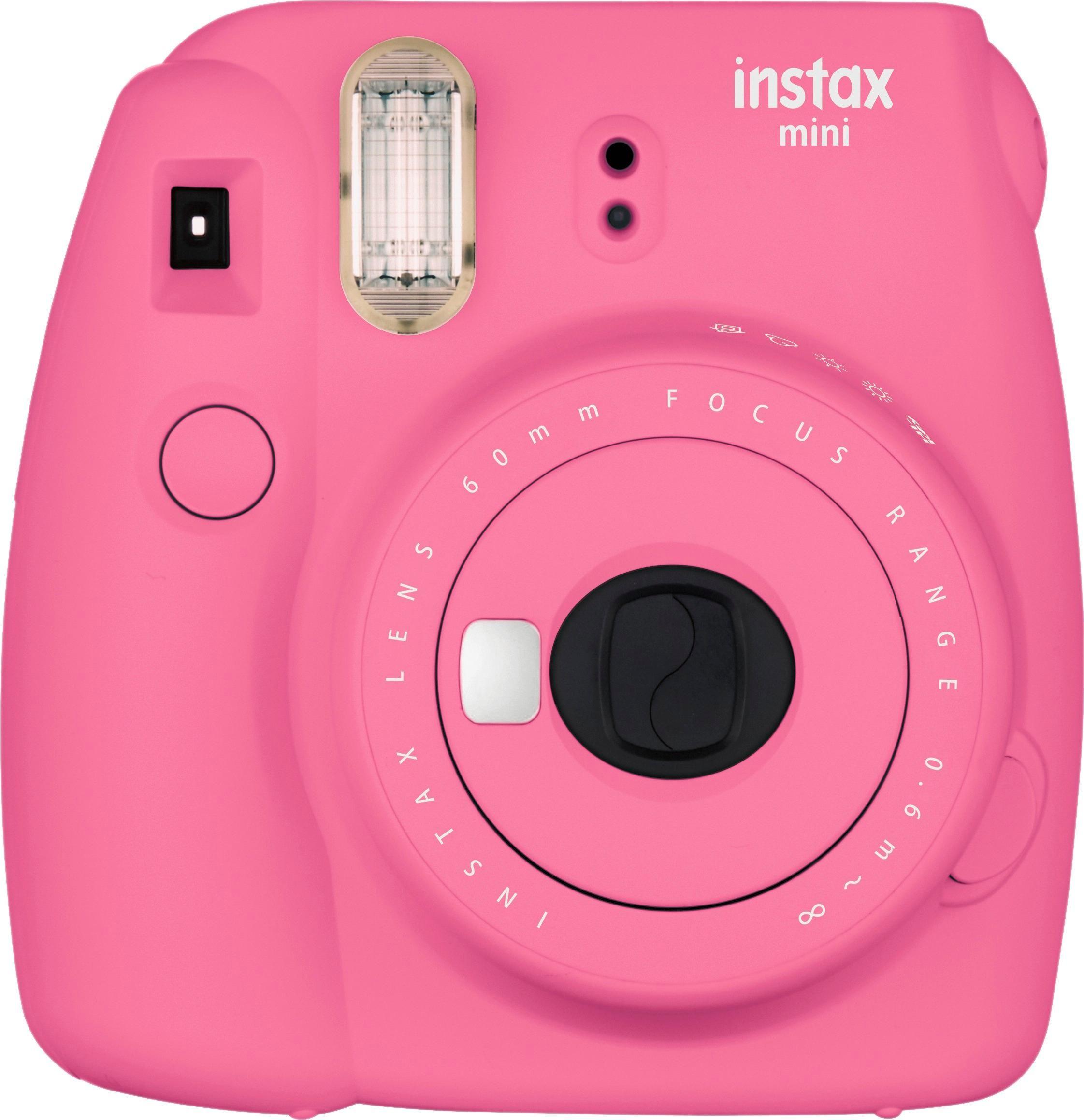 Fujifilm Instax Mini 9 Instant Film Camera Flamingo Pink 16550631