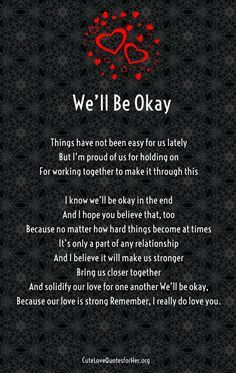 Troubled Relationship Poems For Her1 Me You Forever Pinterest