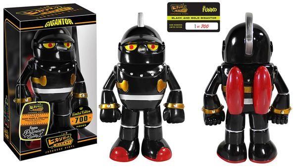 Hikari Friday Black And Gold Gigantor Giveaway Visit Http Popvinyl Net Other Hikari Friday Black And Gold Gigantor Giveaw Vinyl Figures Funko Funko Hikari