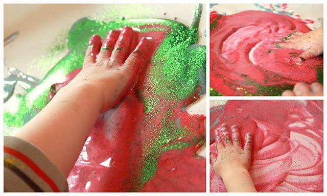 Love it. Homemade Drip Art. Colors didn't mix :-)