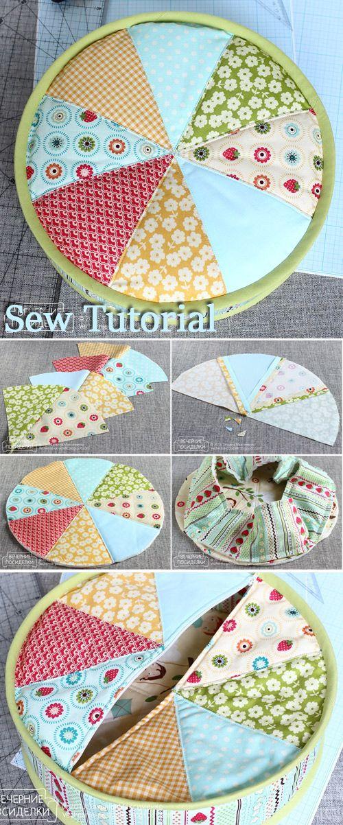 Tutorial De Cojines De Patchwork.Patchwork Pillow Tutorial Tejer Proyectos De Costura