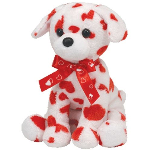 Ty Beanie Babies 8 Lovely Valentine S Day Dog Adorable Stuffed