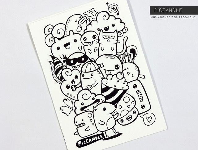 Just A Random Doodle With Images Easy Doodle Art Doodle Art