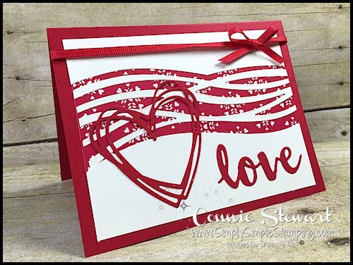 Make It Monday – Valentine Love Card (Simply Simple Stamping ...