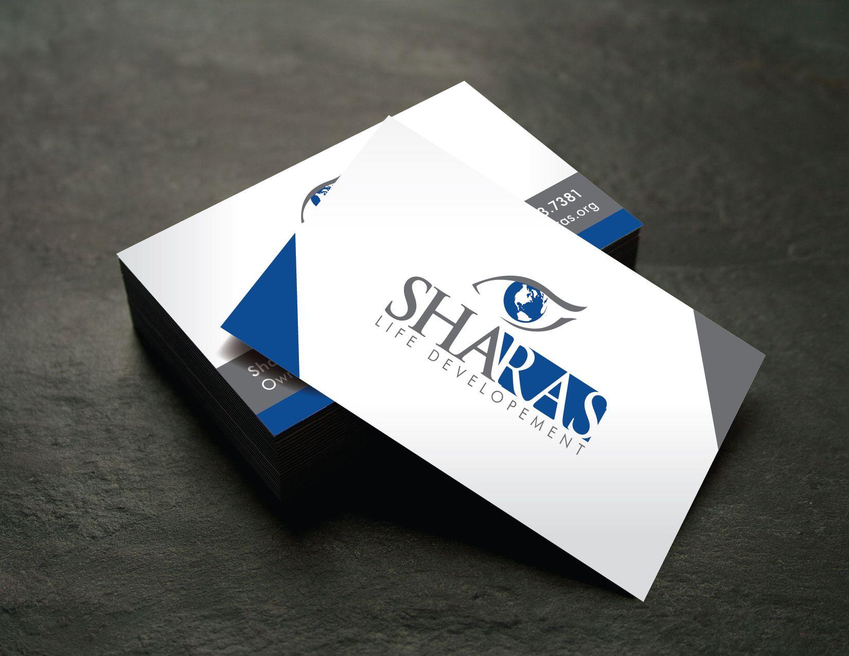 Sharas Life Development Logo And Business Card Design Marketing