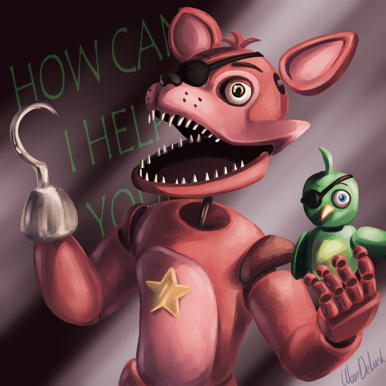 Rockstar Foxy Fnaf Foxy Fnaf Wallpapers Fnaf Drawings