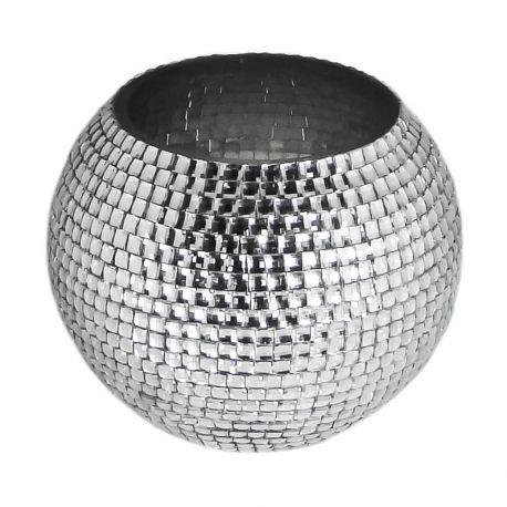vase rond design kim vases argent s pinterest vase activit et design. Black Bedroom Furniture Sets. Home Design Ideas