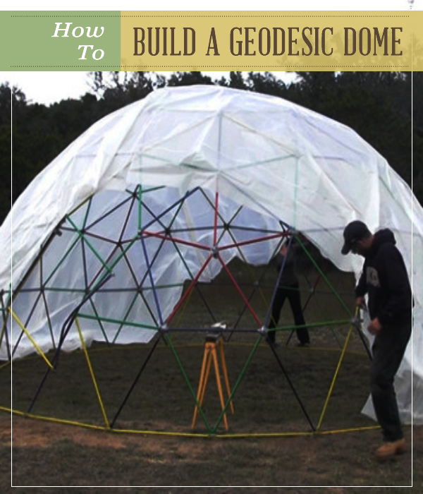 Project Gridless Geodesic Homes: How To Build A Geodesic Dome