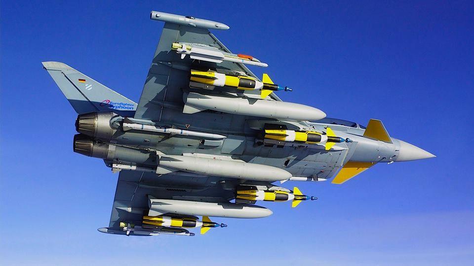 eurofighter typhoon fully loaded ile ilgili görsel sonucu