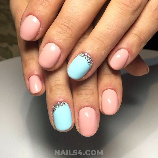 20+ Beautiful And Easy Nail Designs for Teens / #nailart #teens #nails  #nailartdesigns #art #cute Colorful And Simple Nails Art Ideas - 20+ Beautiful And Easy Nail Designs For Teens Nail Art Designs