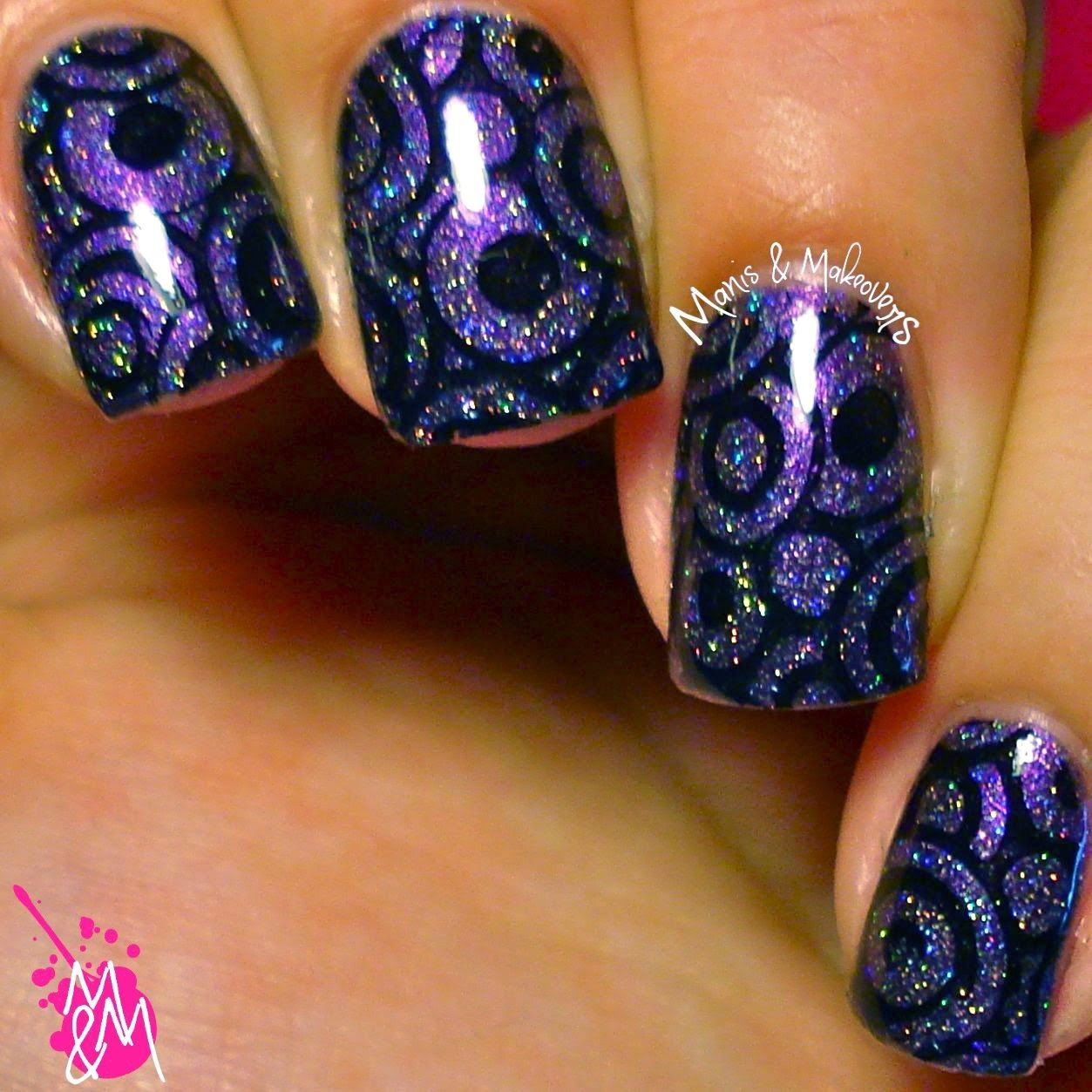 Manis & Makeovers: Born Pretty Store Stamping Plate 21