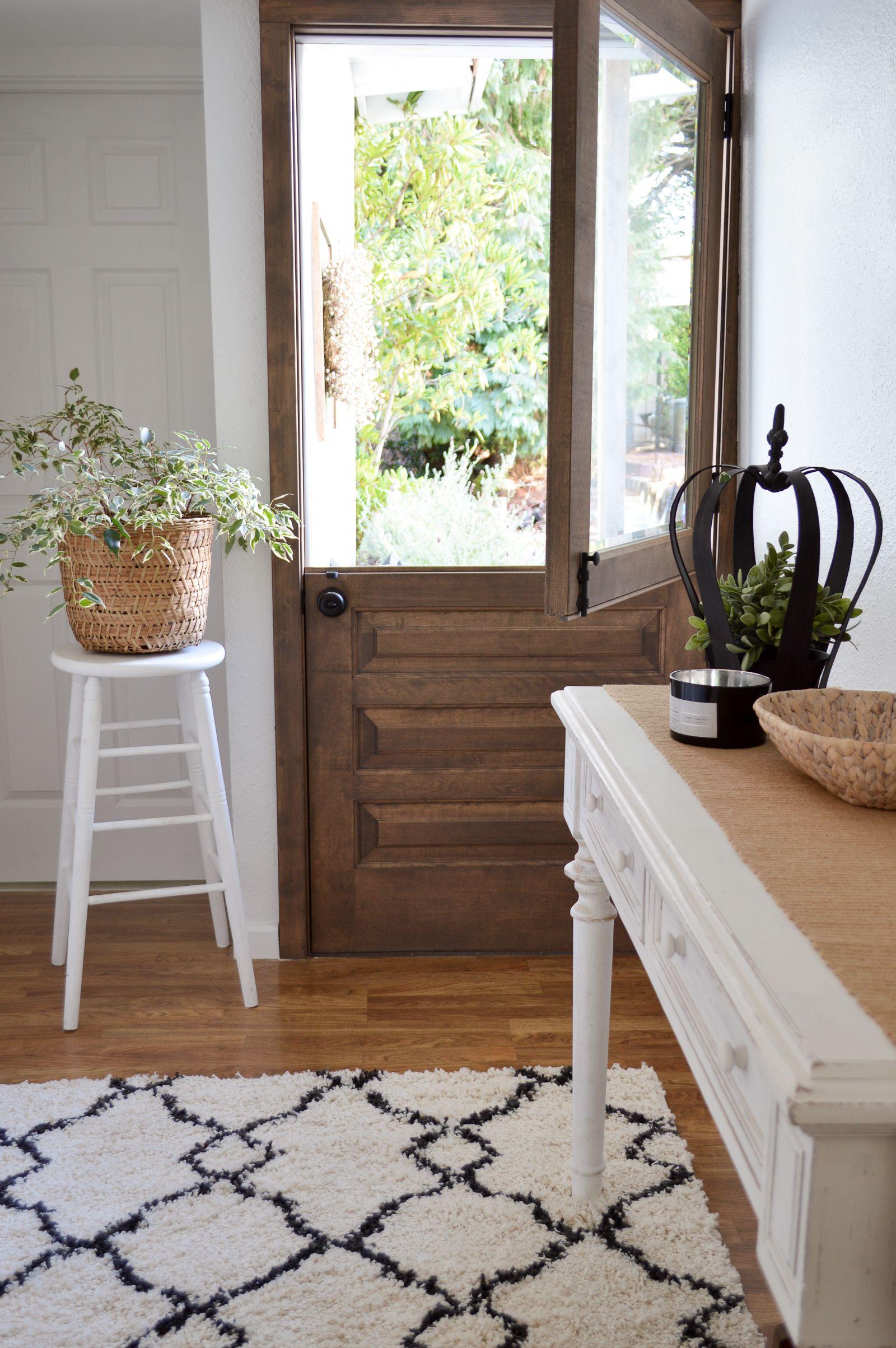 Little Cottage Exterior Paint Dutch Door Reveal Cottage Exterior Dutch Doors Exterior Diy Exterior