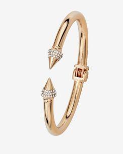 Vita Fede Mini Titan Crystal Bracelet: Rose Gold