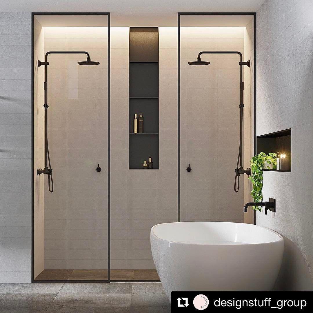 "353 curtidas, 10 comentários - Cerbis Ceramics (@cerbisceramics) no Instagram: ""| BATHROOM INSPO |  We love this bathroom space by @ewert_leaf - simply beautiful!  Elegant subtle…"""