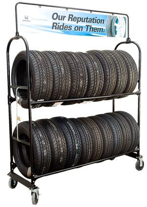 Rolling Tire Storage Rack Beauteous Mobile Tire Racks  Tire Displays Wheels Tire Racks Tire Stands