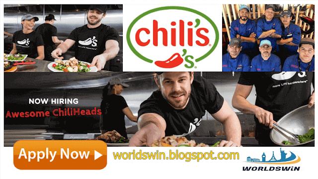 Job Opportunities At Chili S Restaurants Job Opportunities Job Restaurant Management