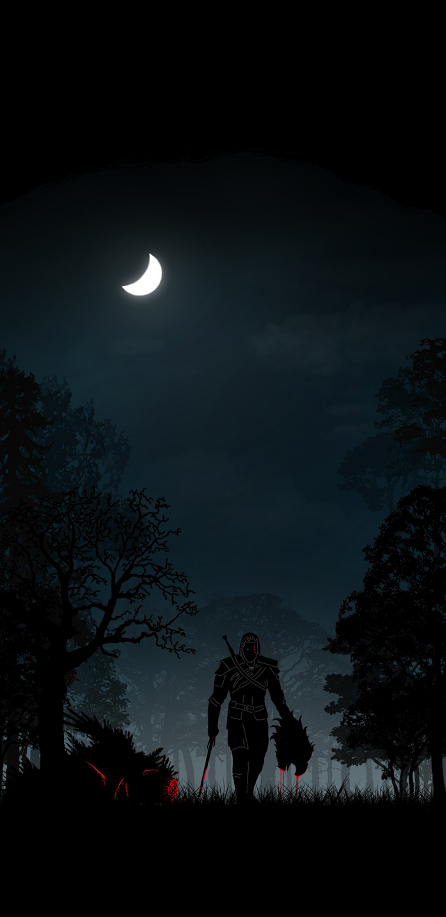 The Witcher 3 Geralt Of Rivia 1440x2960 Amoledbackgrounds The Witcher The Witcher Game The Witcher Wild Hunt