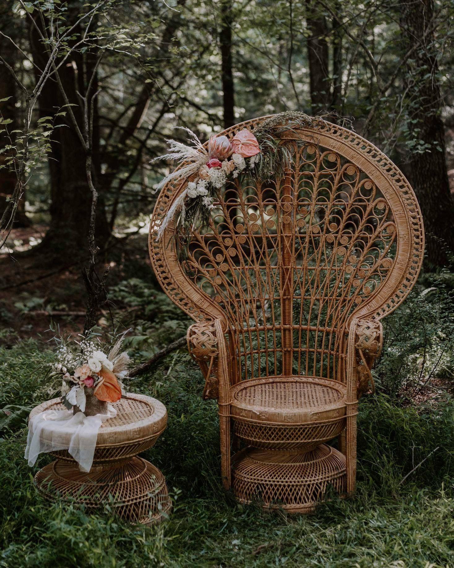 Peacock Chair Boho Flowers Caterina Photography Boho Chair Peacock Chair Decor Chair Photography