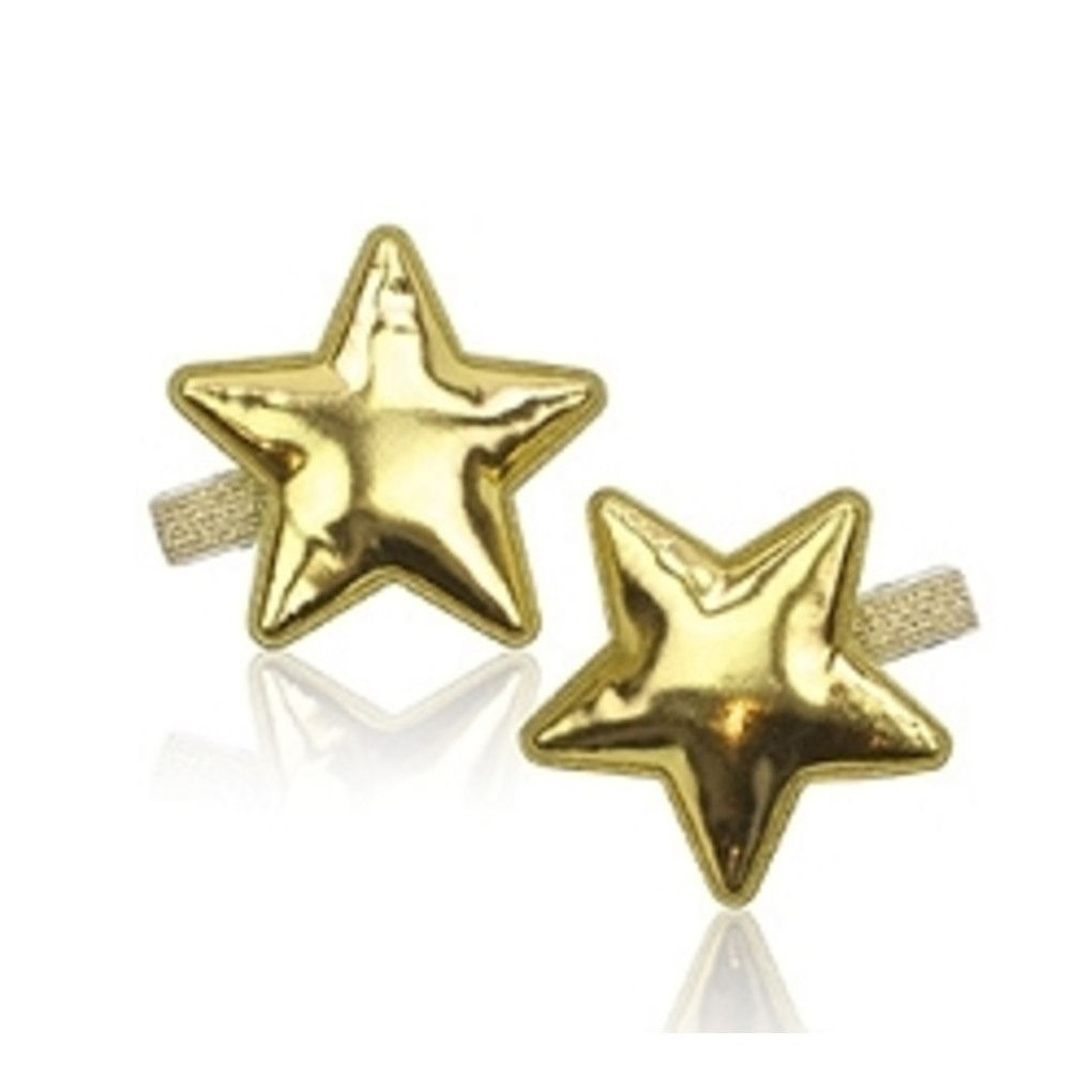 milk and soda metallic puffy star clips